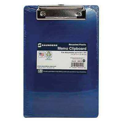 "5-1/2"" x 8-1/2"" Clipboard, Blue SAUNDERS 00515"