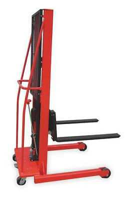 DAYTON 2MPT8 Fixed Bse Hyd Stacker,1000 lb,56 In Lift G3482118