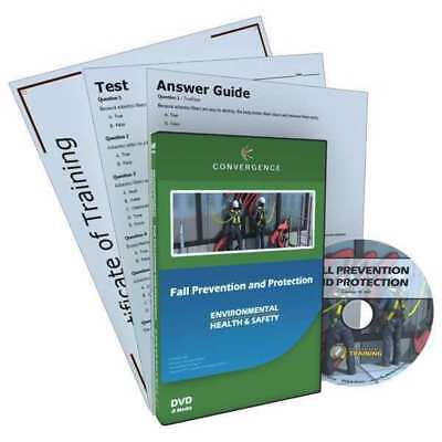 CONVERGENCE TRAINING C-803 Fall Prevention/Protection,DVD,34 min. G3891091