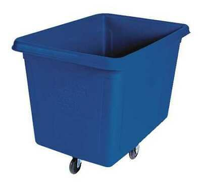 Cube Truck,9/16 cu. yd.,500 lb. Cap,Blue RUBBERMAID FG461600DBLUE