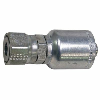 PARKER HANNIFIN 1JS43-6-6 Fitting,Female ORS,Straight,3/8 G3966061