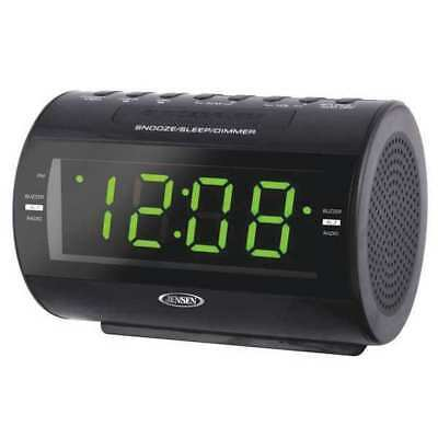 JENSEN JCR-210 Desk Clock,Digital,Electric G4014081