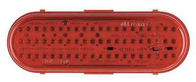 Stop/Tail/Turn Light,LED,Red,Grommet,Ovl MAXXIMA M63100R