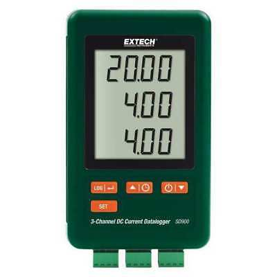 EXTECH SD900 DC Current Logger,4 GB,3 Channel G4105757