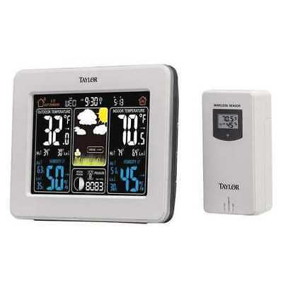 TAYLOR 1736 Wireless In/Out Forecaster w/Color Disp G4017076
