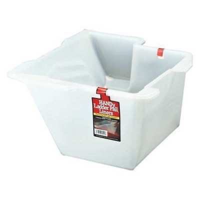 HANDY PAINT PRODUCTS 4510-CT Paint Pail Liner,1 gal.,For Ladder,PK2 G4606887
