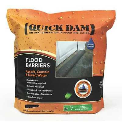"Flood Barrier,17 ft.L,3-1/2""H QUICK DAM QD617-1"