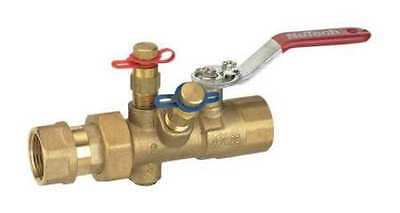 NUTECH MB2E-2B-100F-100F Manual Balancing Valve,1 In,FNPT