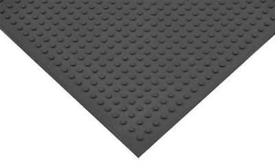 Traction Mat,Black,3 ft.x4 ft. APEX T21S0034BL