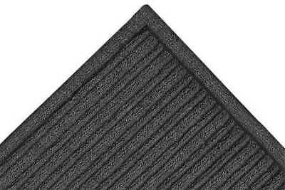 NOTRAX 161S0023CH Entry Mat, RdgCrss, Charcoal, 2 ft.x3 Ft