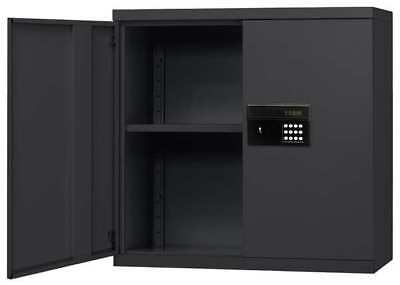 SANDUSKY LEE KDEW3012-09 Wall Mount Storage Cabinet, Black
