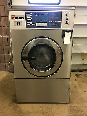 Ipso Commercial Washer 25lb Speed Queen Wascomat Huebsch Dexter Unimac NICE!
