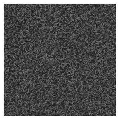 CONDOR 8XCJ0 Carpeted Runner,Charcoal,3ft. x 12ft.