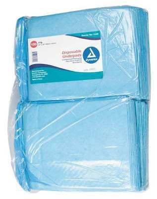 Disposable Underpads,23x24In,31 g,PK200 DYNAREX 1342