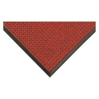 Carpeted Entrance Mat,Red/Black,3ftx5ft CONDOR 9GFH9