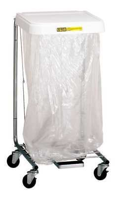 R&B WIRE PRODUCTS INC. 692/32 Laundry Hamper Cart, 1 Comp, Gray, 3 cu. ft