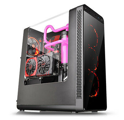 Thermaltake View 27 Nero con Finestra cabinet Case Pc - Nuovo OFFERTA!!!