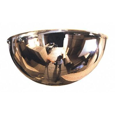Full Dome Mirror,36In.,Acrylic ZORO SELECT ONV-360-36