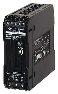 DC Power Supply,24VDC,5A,50/60Hz OMRON S8VK-G12024