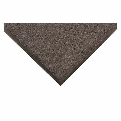 CROWN OE 0046GY Wiper/Scrper Mat,Blck/Gray,6ft L x 4ft W