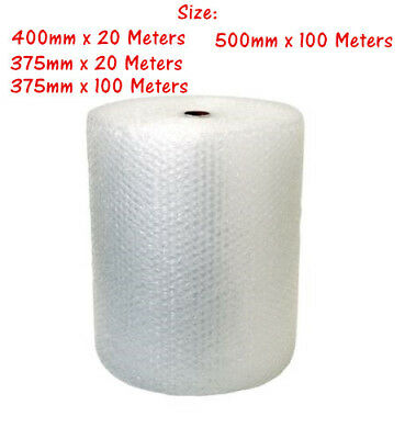 Roll Bubble Wrap 20m 40m 100m White Clear Bubblewrap Packaging Protective YW
