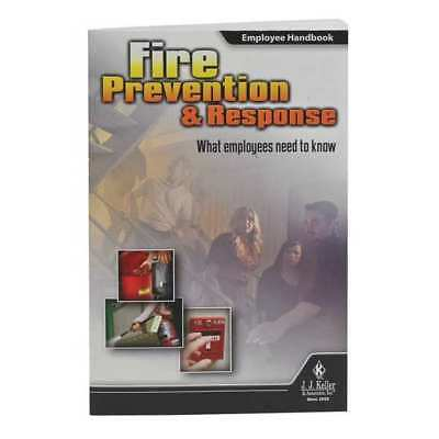 JJ KELLER 40997 Training Booklet,Fire Safety,ENG,PK10 G5091147
