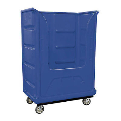 ROYAL BASKET TRUCK G48-BLX-BPA-6UNN Poly Bulk Truck,48 cu ft,Blue