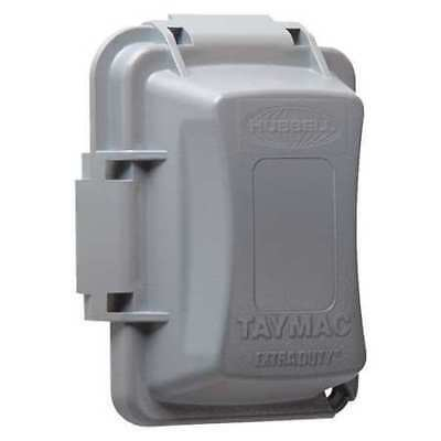 """RACO MM420G While In Use Cover,2-3/4"""" D,1 Gang,Gray"""