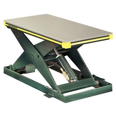 SOUTHWORTH LS2-36-2448-FS-115V Scissor Lift Table,2000 lb.,115V,1 Phase