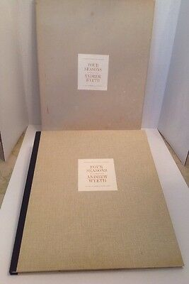 RARE VINTAGE 1963 FOUR SEASONS 12 REPRODUCTIONS ANDREW WYETH VERY GOOD With Box