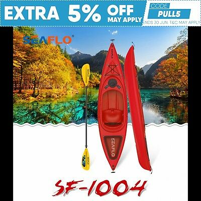 3m Sit-in Recreational Kayak Package (Red) Brisbane