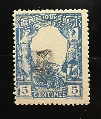 Haiti 1904 Toussaint L'ouverture Center Inverted MNG very rare