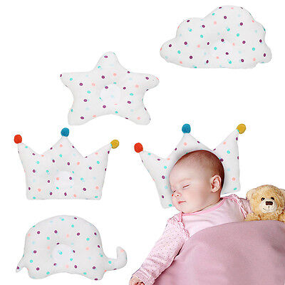 Newborn Nursery Pillow Neck Support Cushion Anti-Flat Head Sleep Positioner Pad