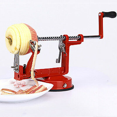 3 in 1 Apple Peeler SLICER MACHINE Apple Peeler Corer Potato Fruit Cutter Tool