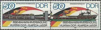 Timbres Transports RDA Allemagne 2674A ** lot 1958