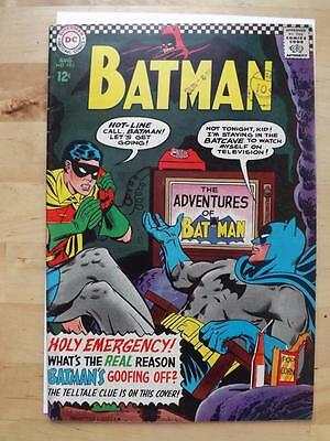 BATMAN #183 FINE+ 6.5 2nd.S.A. P. IVY BIG SCANS COMBINED POSTAGE