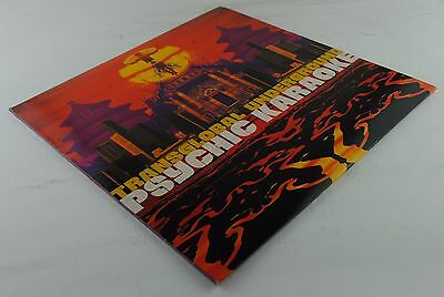 TRANSGLOBAL UNDERGROUND - Psychic Karaoke LP! 1°ST UK Press! Ex Audio!
