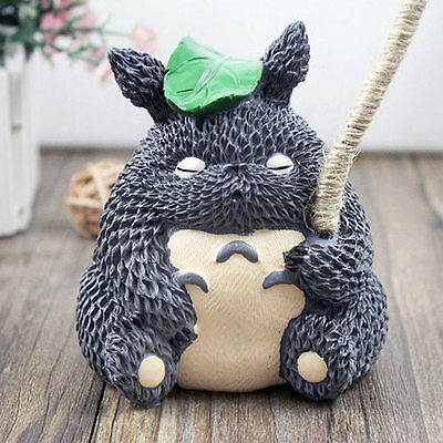 My Neighbor Totoro Figurine Room Lamp Light Coins Piggy Bank Home Decor Gifts #A