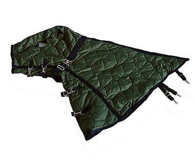 New Green Horse Hood 600D 500G Cotton Large Size QHG1