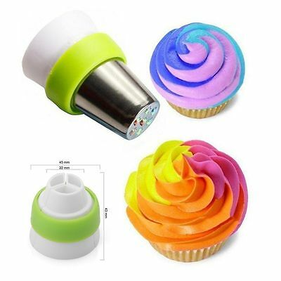 NEW Big Flower Stainless Steel Icing Piping Nozzles Cake-Cup Cake Baking Tool