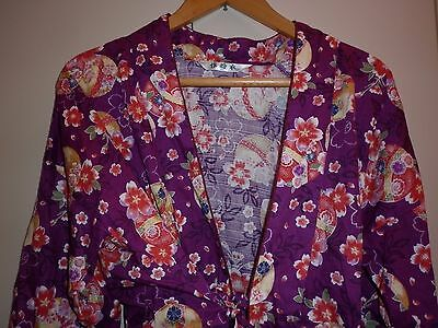 Vintage Japanese  Traditional Blouse  Size M Excellent Condition