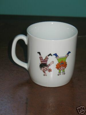 Childrens Dinnerware Set Bowl & Cup West Germany
