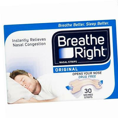 Breathe Right Nasal Strips, Small/Medium - Natural, 30 Pack