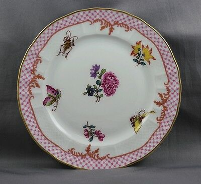 Bernardaud  Companie Des Indes Red Bread & Butter Plate  Sold Individually