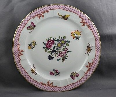 Bernardaud  Companie Des Indes Red Salad  Plate  Sold Individually