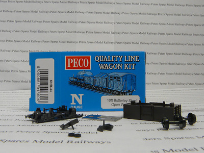 Peco Quality Line Wagon KNR-44 10ft Butterfly Steel Open Wagon  Wagon Kit