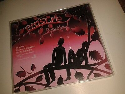 * MUSIC CD SINGLE * ERASURE - BREATHE * Includes DIGIMPRO REMIX
