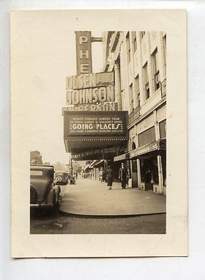 1935 Springfield, Il Photo, Orpheum Theater Marquis, Going Places, Olsen & Johns