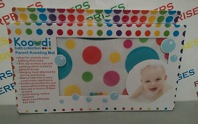 Koo-Di Bath Collection Parent Kneeling Mat NEW & Boxed, Box Tatty