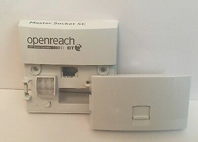 Joblot Of 24 New 2016 VERSION - Genuine BT Openreach Master Socket NTE5c